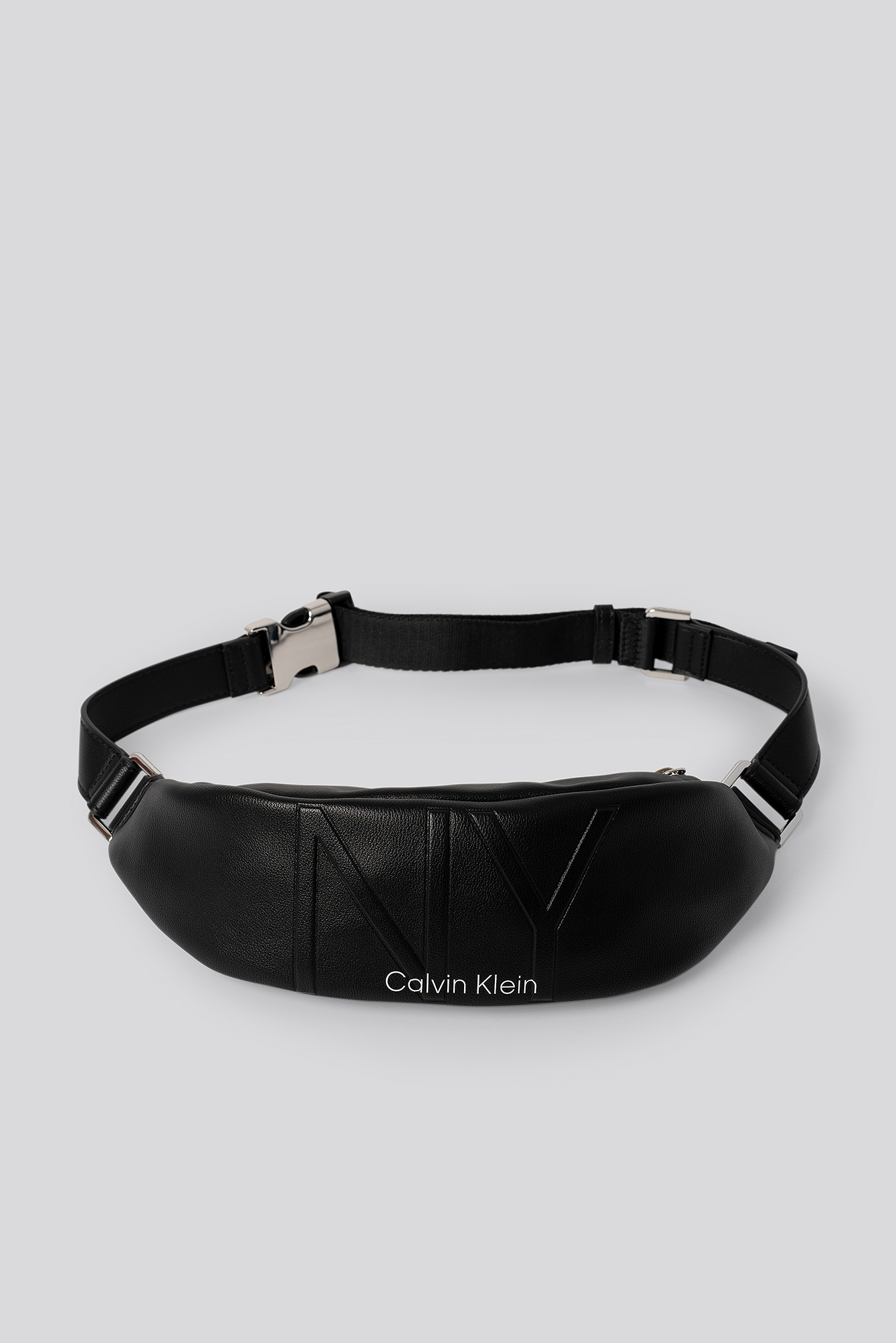 Black NY Shaped Waistbag Md
