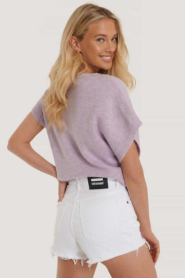 Skye Shorts White