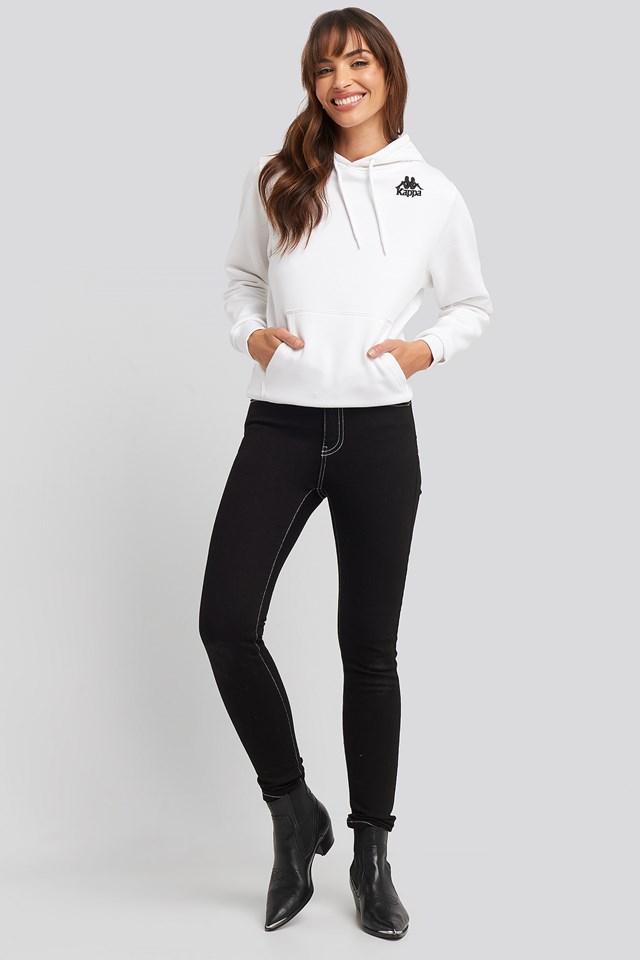 Contrast Black Erin Jeans