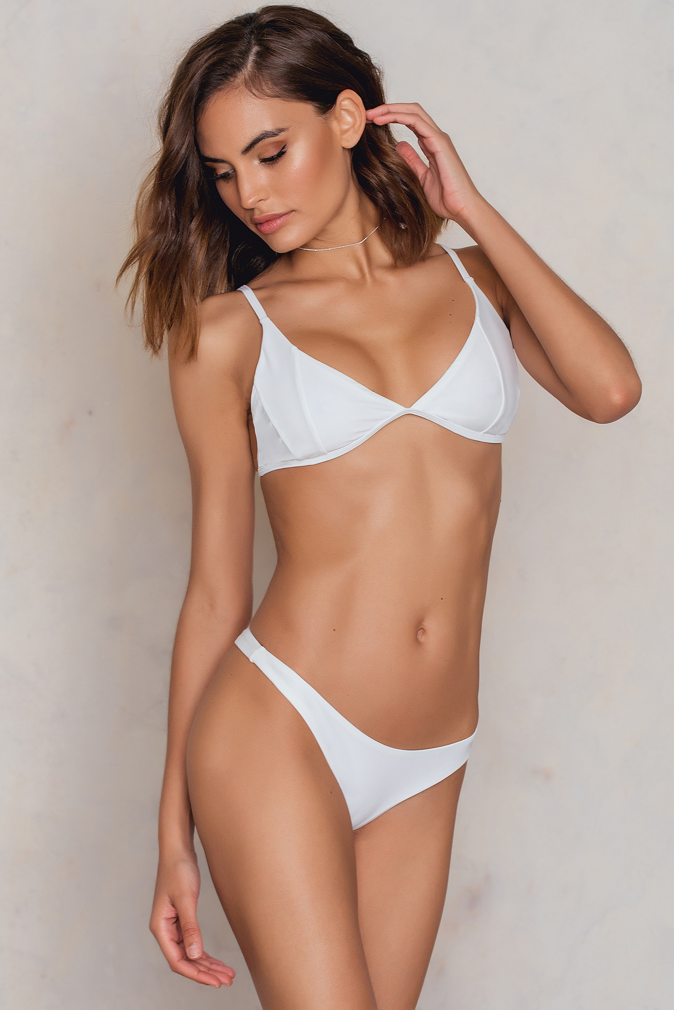 White Lanai Low Cut Briefs