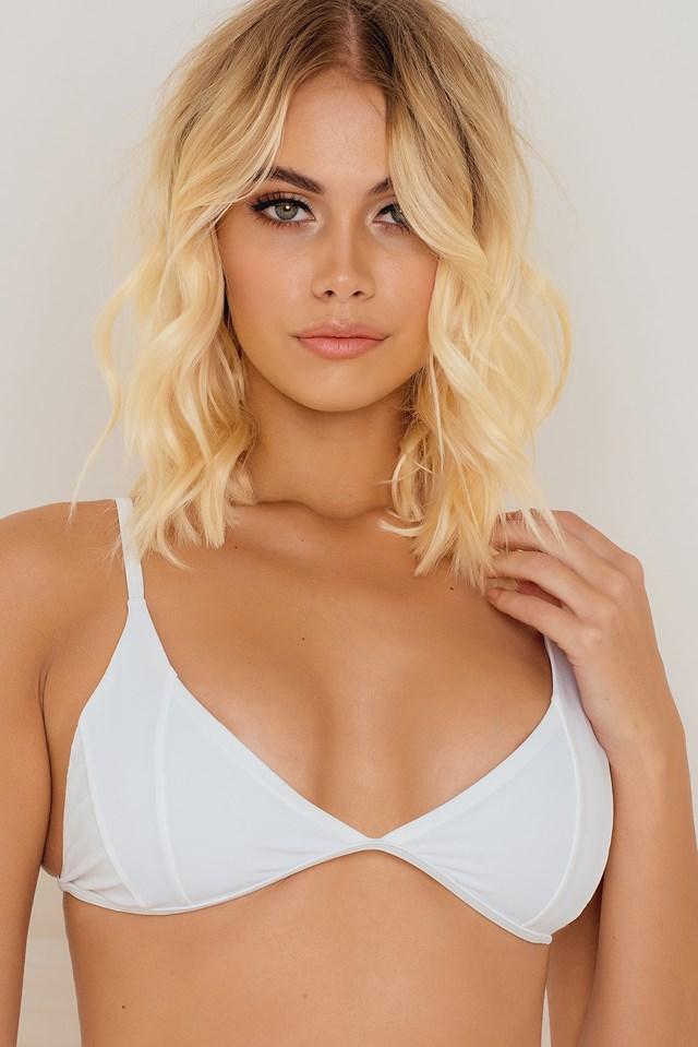 Molokai Triangle Top White