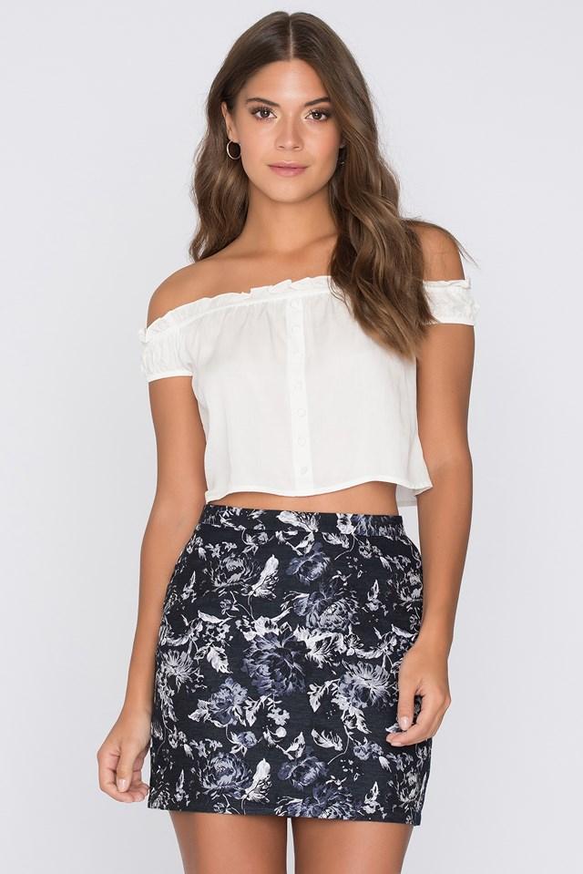 Print Oscar Skirt