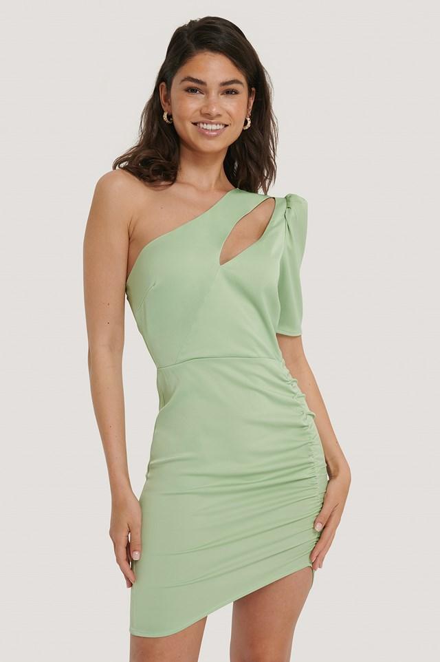 Sukienka Pastel Green