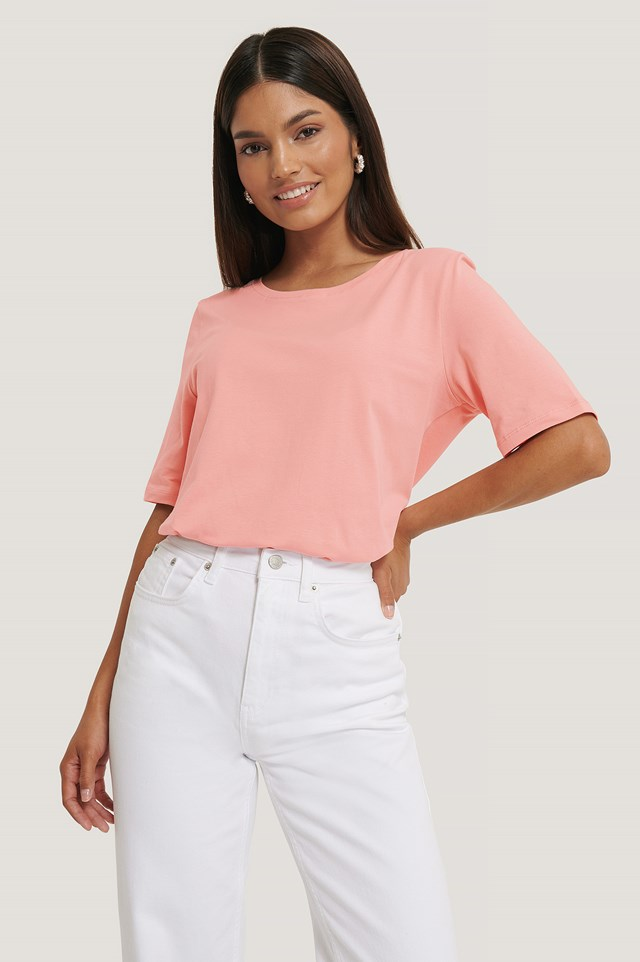 Boyfriend T-Shirt Blush