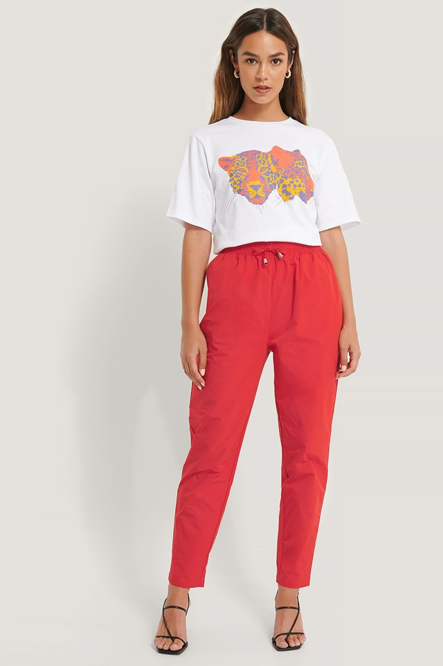 Track Pants Red