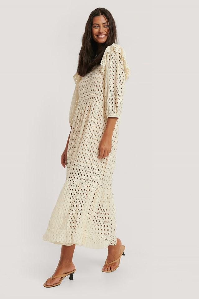 Anabel Dress Light Beige