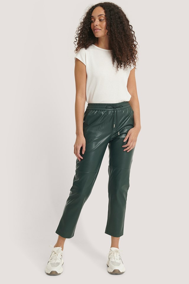 Apple Trousers Dark Green