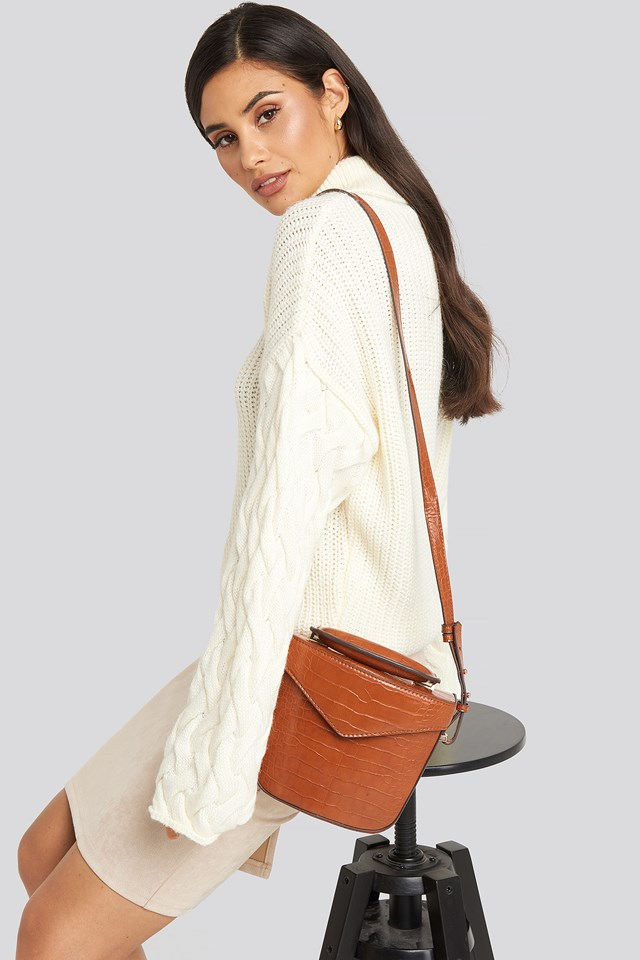 Chile M Bag Leather Brown