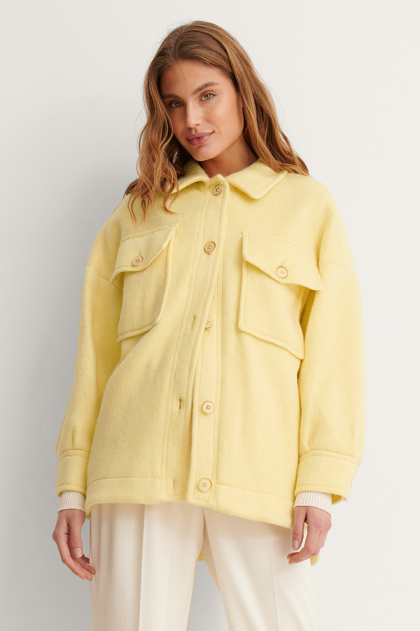 Pastel Yellow Country Jacket