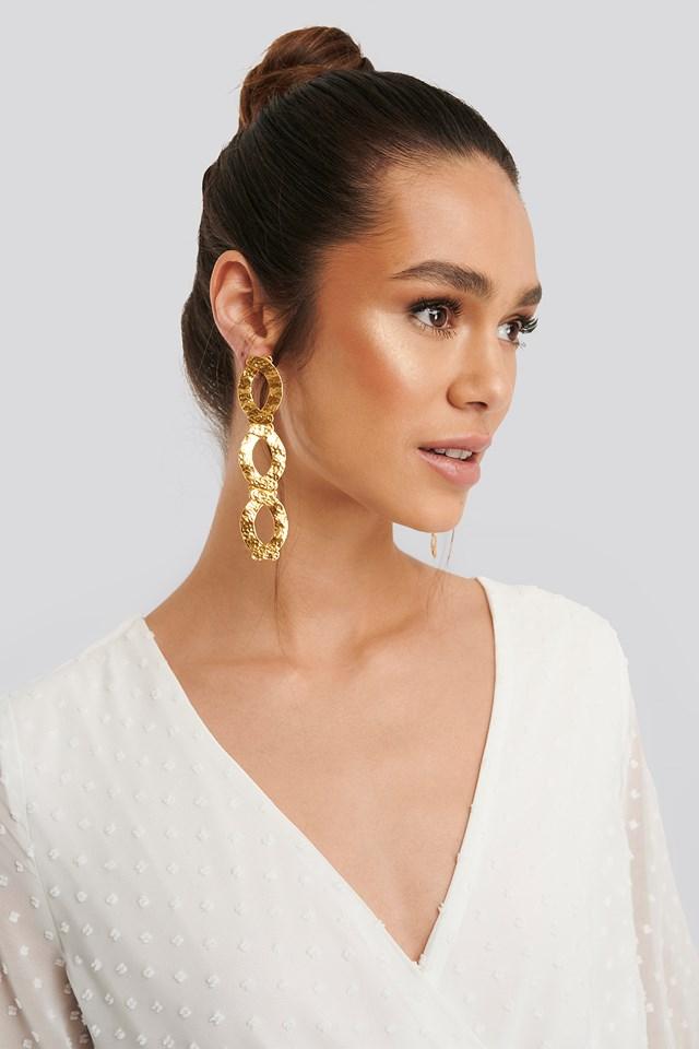 Daniela Earrings Gold