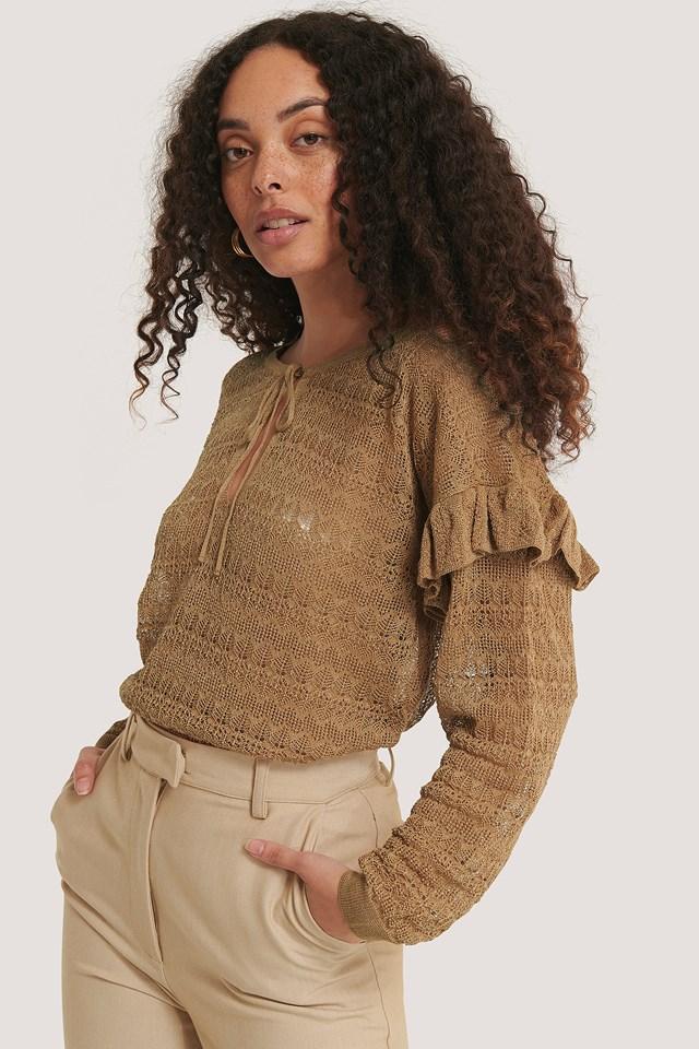 Delaunay Sweater Camel