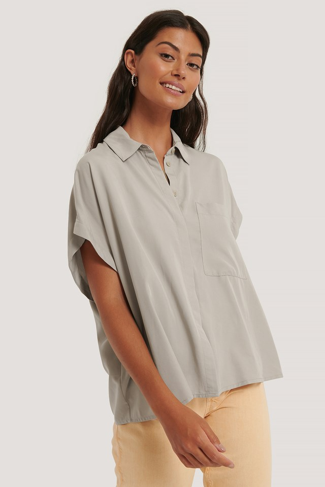 Eliza Shirt Grey Stone
