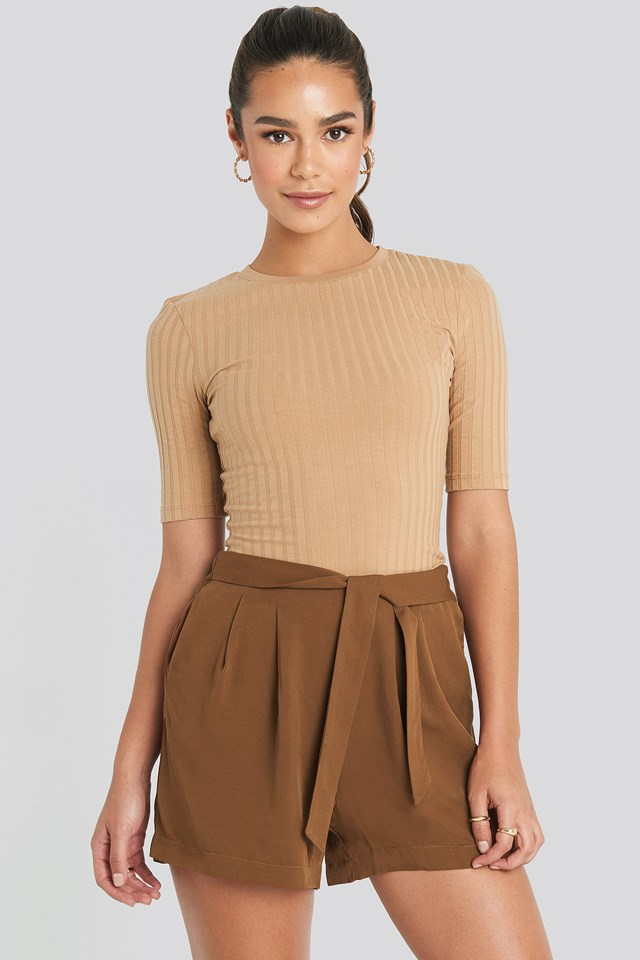 Brown Fast Shorts