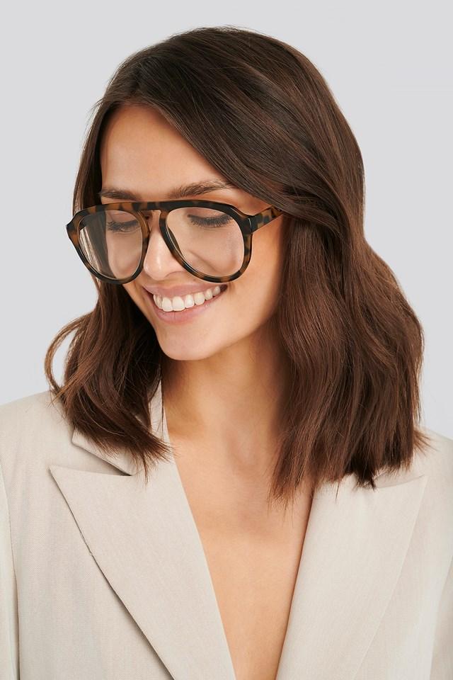 Dark Brown Greta2 Sunglasses