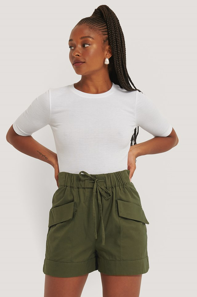 Khaki Harvey Bermuda Shorts