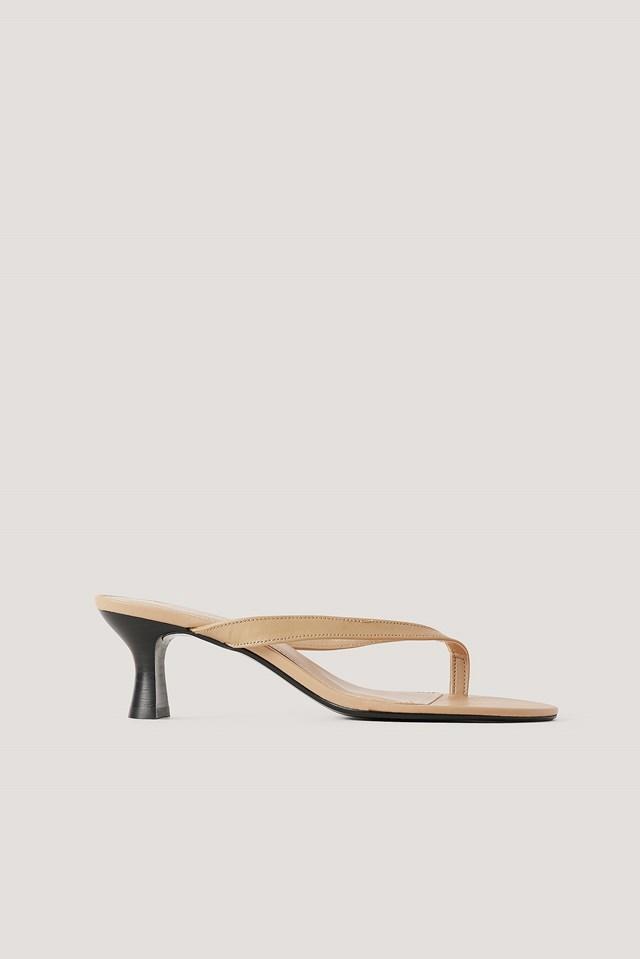Luna Sandals Dark Brown