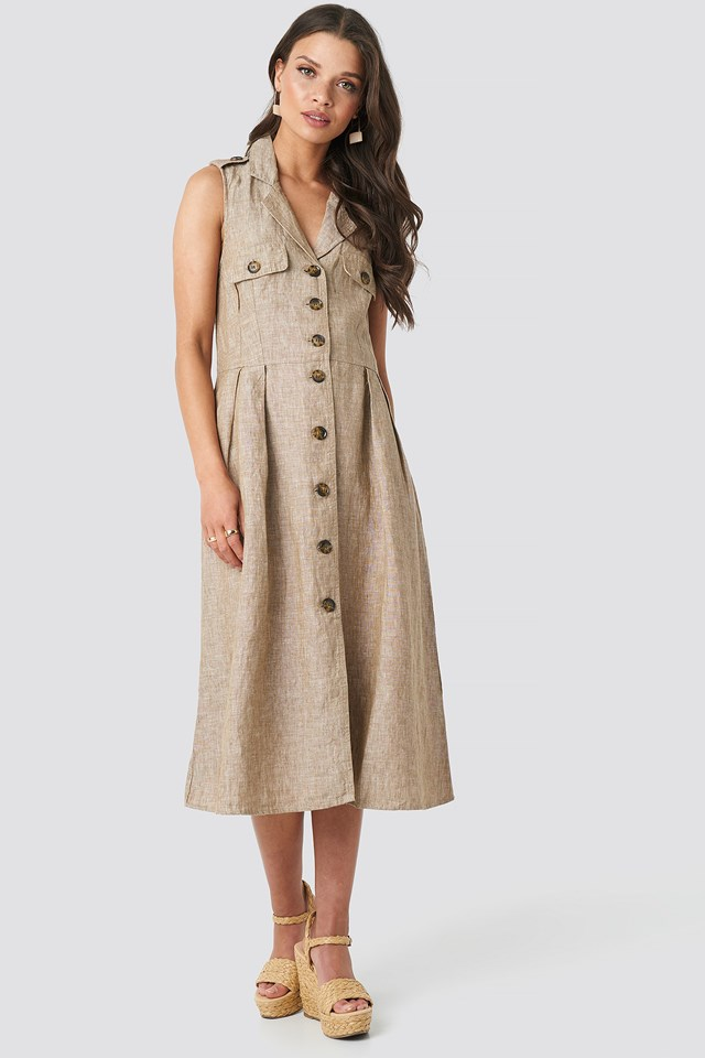 Seul Dress Camel