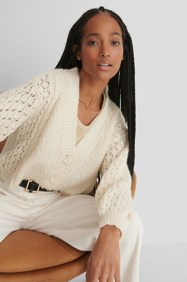 Selena Cardigan Light Beige