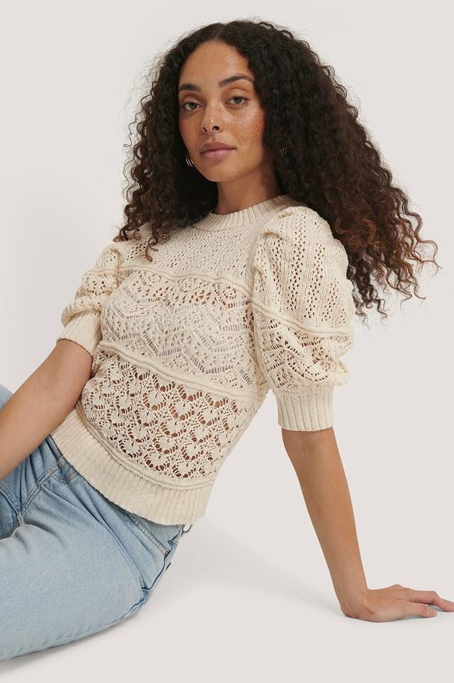 Shambala Sweater Light Beige