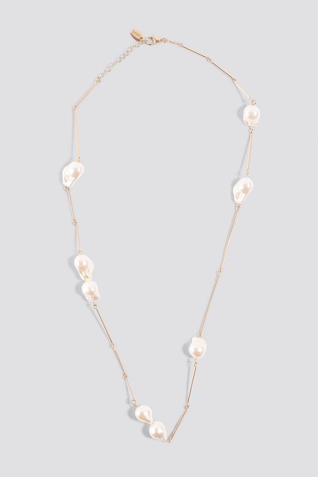 Tanzania Necklace Gold