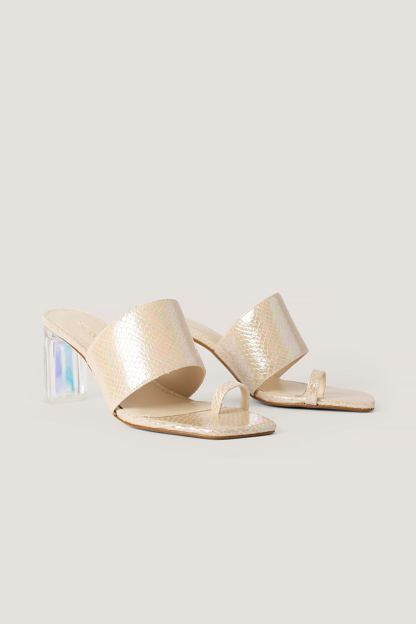 Nude Tran Sandals