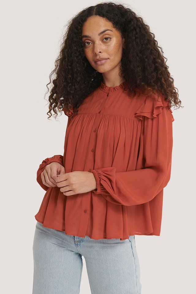 Zadicre Blouse Red