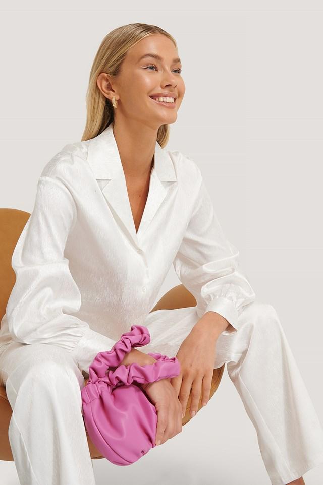 Wrinkle Bag Strong Pink