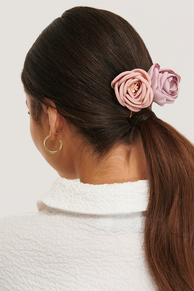 Midnight Lace 2-Pack Vintage Look Blossom Hairclips