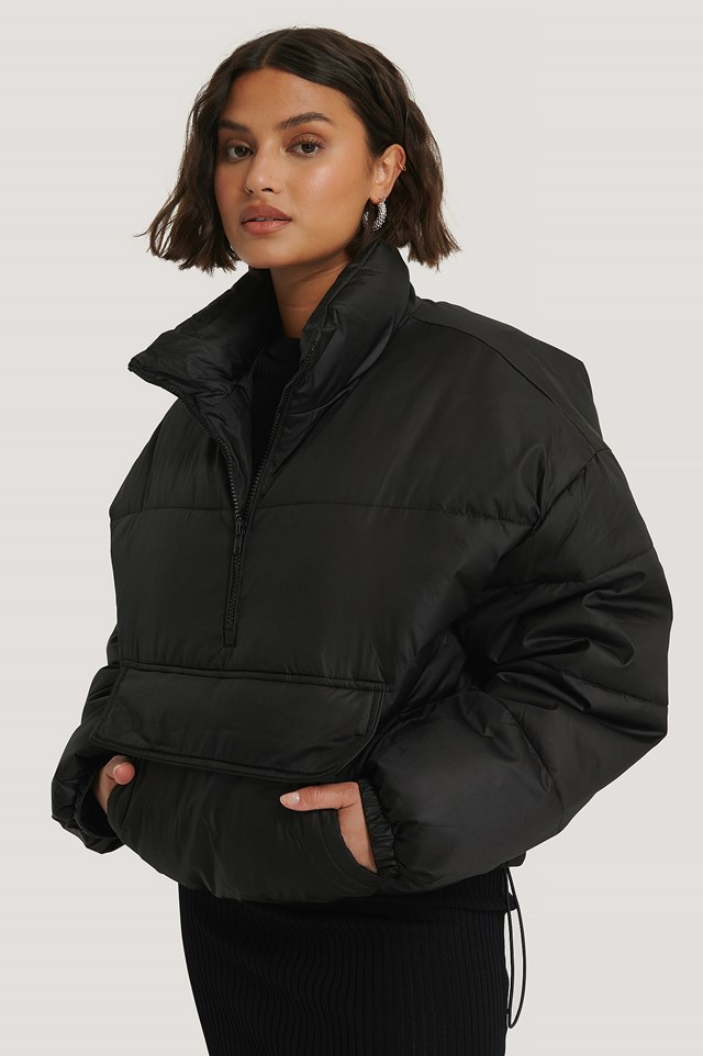 Anorak Padded Jacket Black