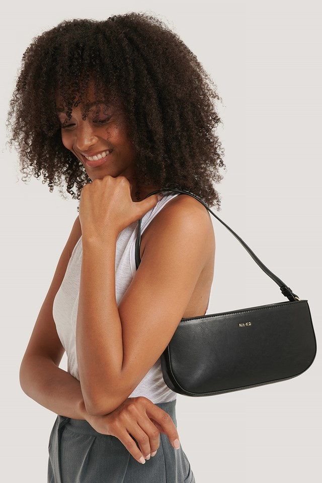 Baguette Bag gloss black