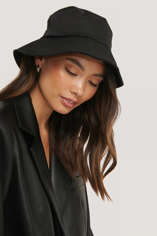 Bendable Edge Bucket Hat Black