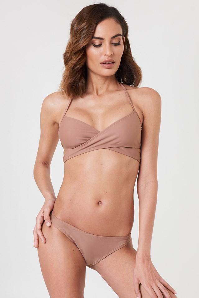 Dusty Dark Pink Bikini Panty