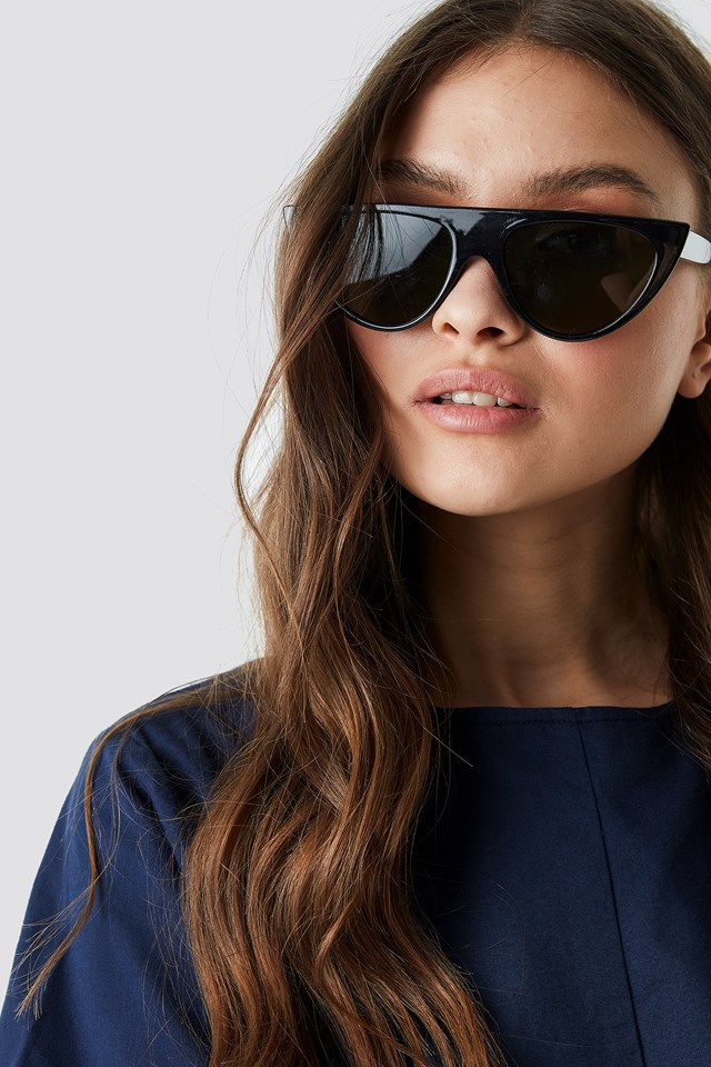 Flat Top Sunglasses Black