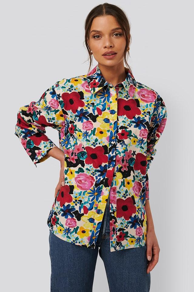 Flowery Shirt Poppy Flower