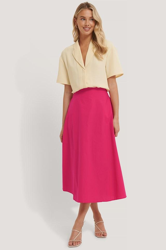 Flowy Skirt Fuchsia