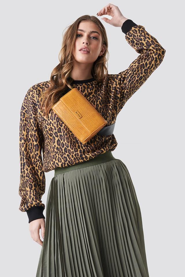 Leopard Oversize Sweatshirt Leopard