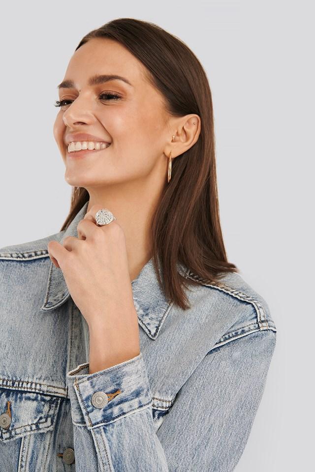 Lepeta Shell Ring Silver