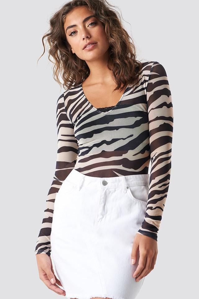 Mesh Body Zebra
