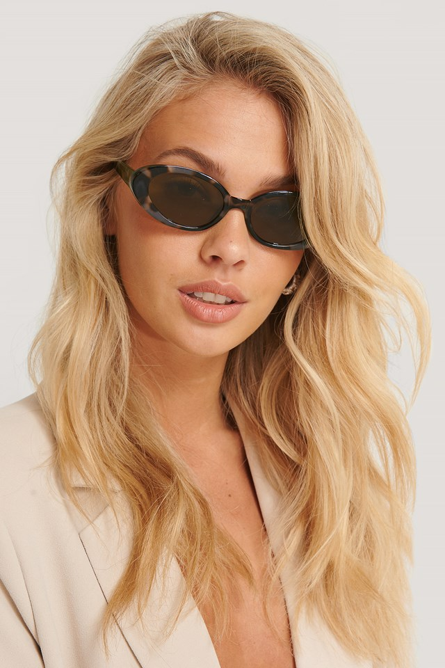 Oval Retro Sunglasses Tortois