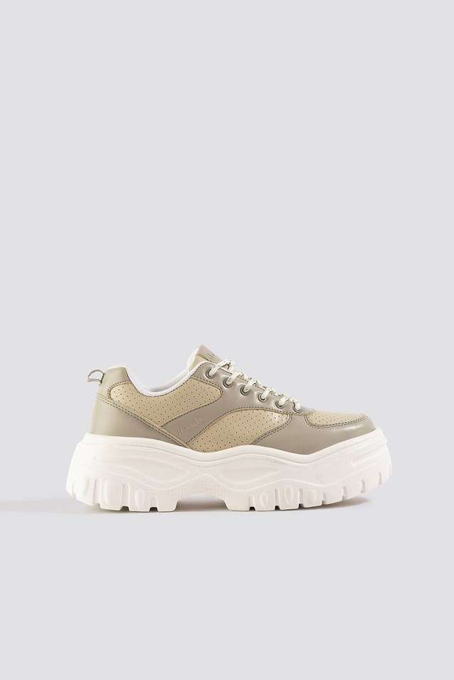 Profile Sole Sneakers Dusty Sand