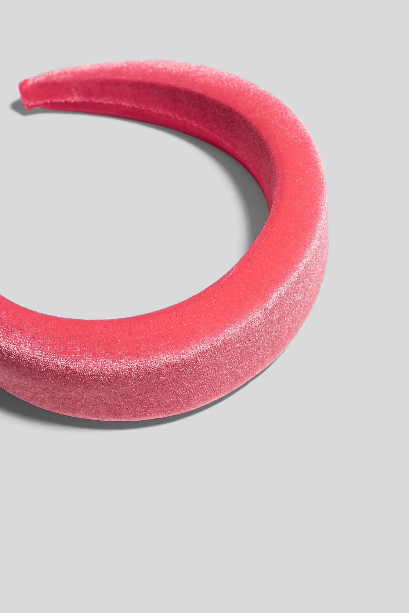 Pink Puff Velvet Hairband