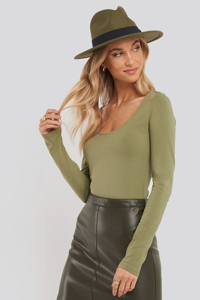 Round Neck Body Khaki