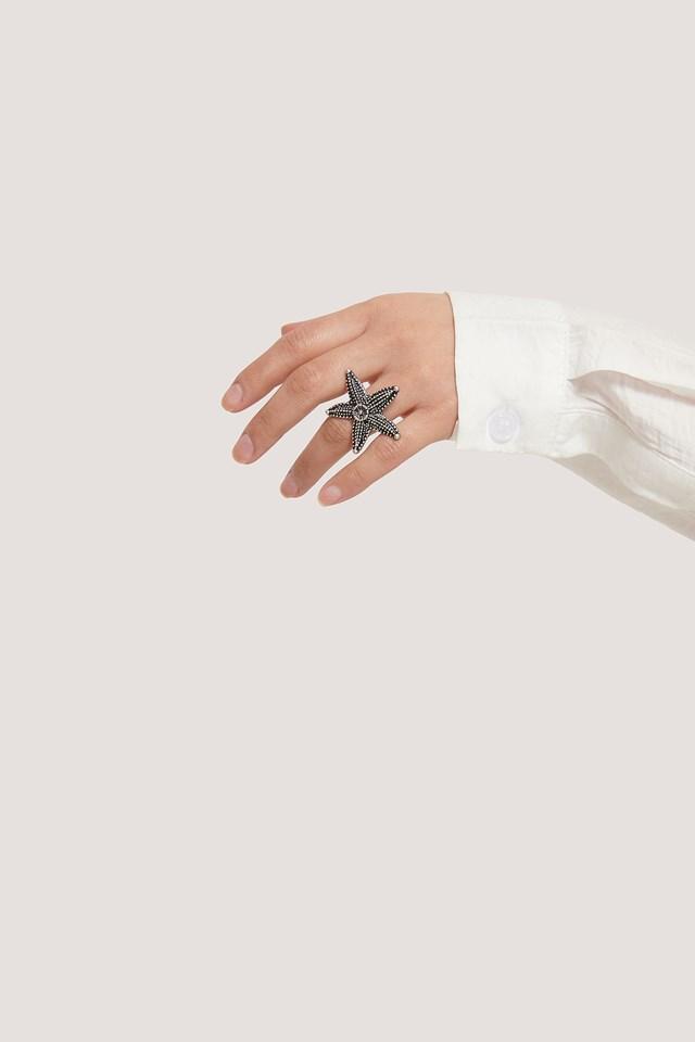 Seastar Ring Silver