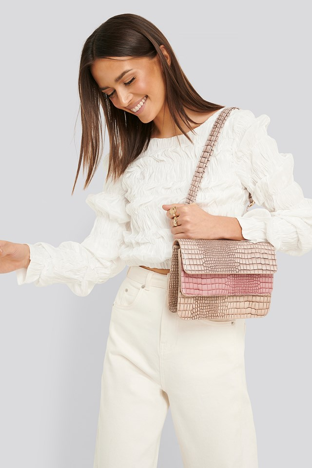 Three Layered Bag Pink