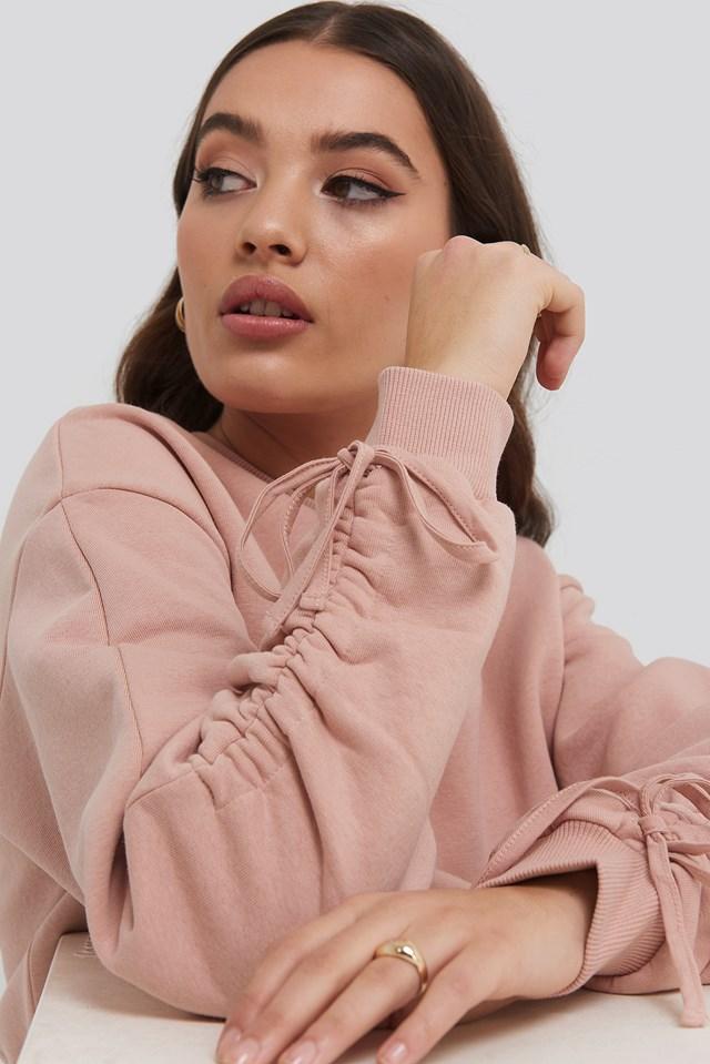 Bluza Z Długim Rękawem Pink
