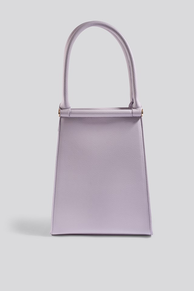 Top Handle Trapeze Bag Lilac