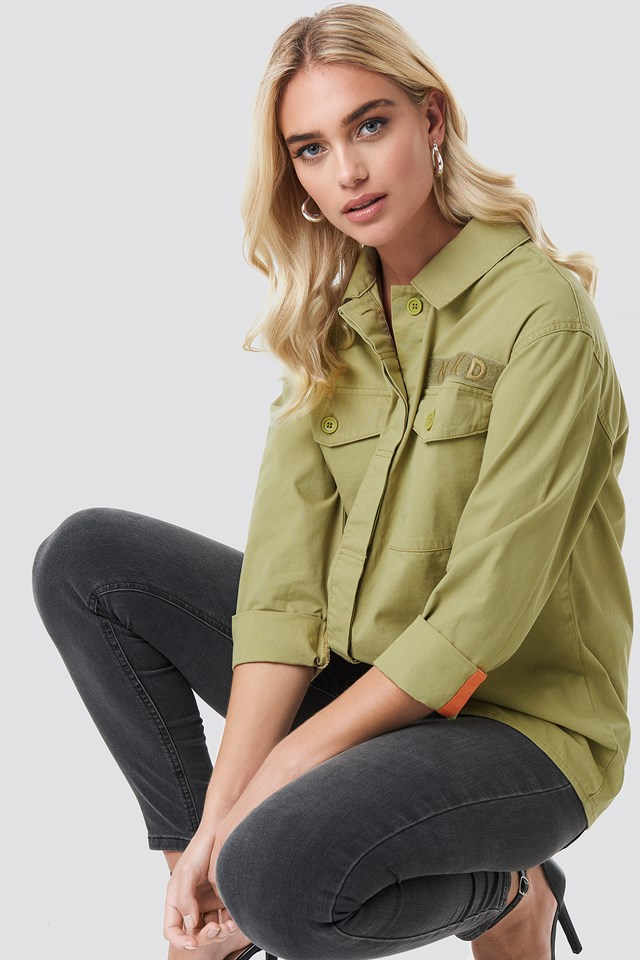 Koszula Oversize Green