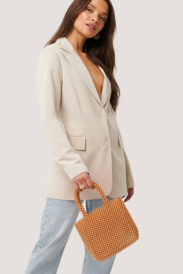 Pearl Bag Peach