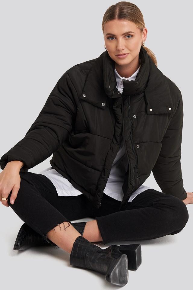Black Carro Puff Jacket