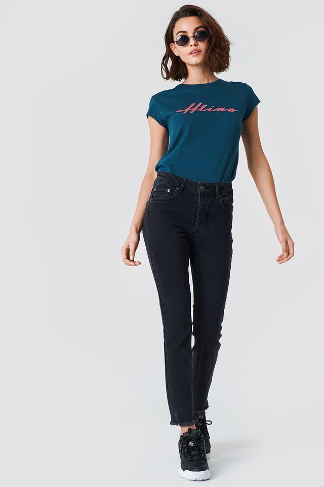 Louisa Black Jeans Black